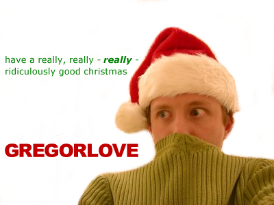 gRegorLove Christmas Greeting