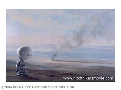 Hitchhiker's Guide to the Galaxy Concept Art
